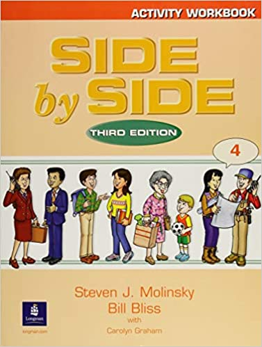 Side by side work book 4